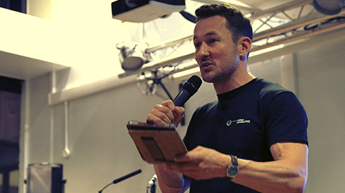 Public Speaking - James Rostance 1