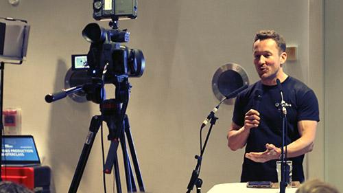 Public Speaking - James Rostance 2