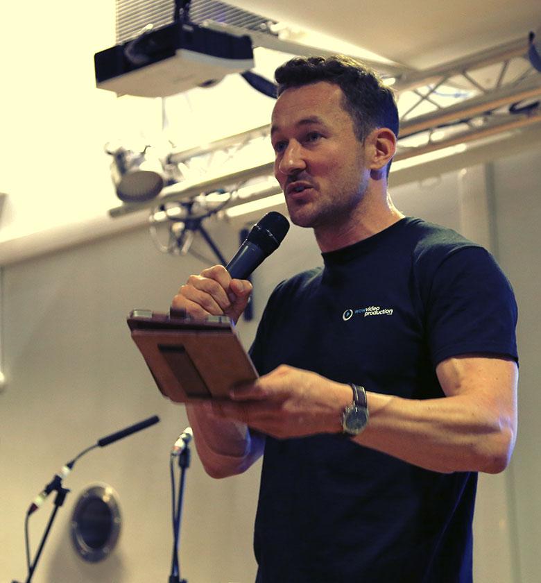 James Rostance - Public Speaking