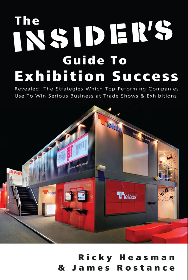 James Rostance - Insider's Guide To Exhibition Success - Book Cover